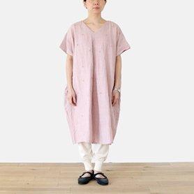fig dress / ピンク