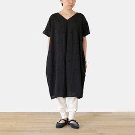 fig dress / ブラック