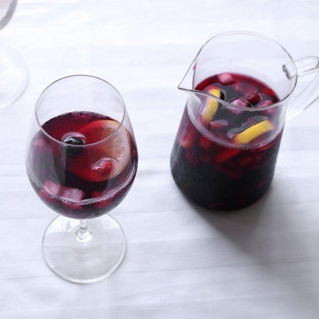 「CLASKA(クラスカ)」ドーのグラスポットとワイングラス