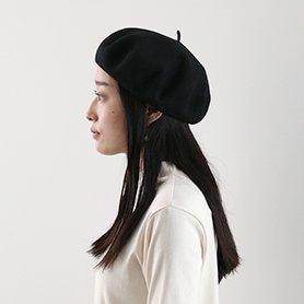 ベレー帽 / ブラック