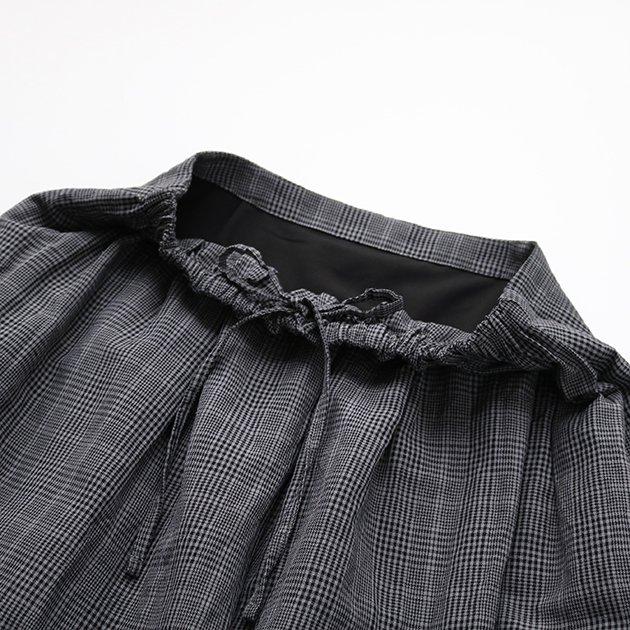 CLASKA(クラスカ)のウールリネンウェザースカート