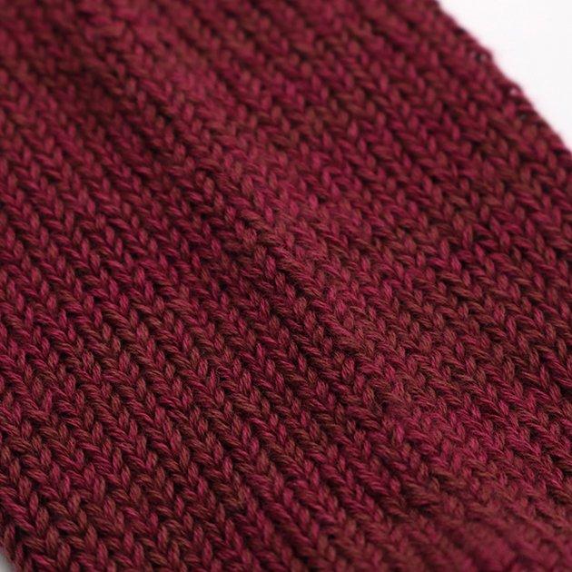 「CLASKA(クラスカ)」発のアパレルブランド「HAU(ハウ)」の靴下の生地