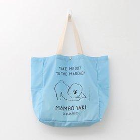 MAMBO PLAYBOW ナイロンマルシェトート / サックス