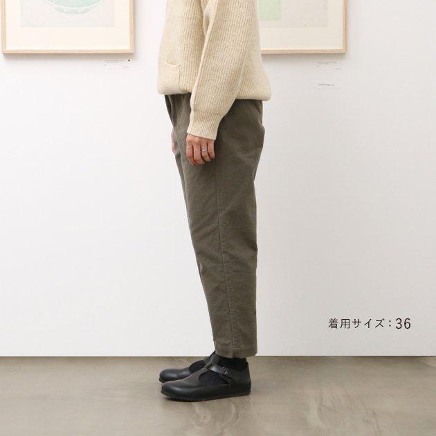 「CLASKA(クラスカ)」発のアパレルブランド「HAU(ハウ)」のパンツ「warm skin(ワームスキン)」