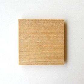 木曽ひのきのコースター