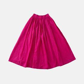 薄地ロングスカート ピンク