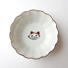 菊小鉢 / 子猫