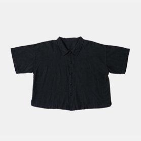 ビッグブラウス / ブラック