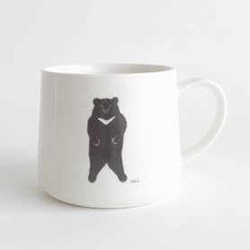 「CLASKA(クラスカ)」のトモタケ クマ マグカップ