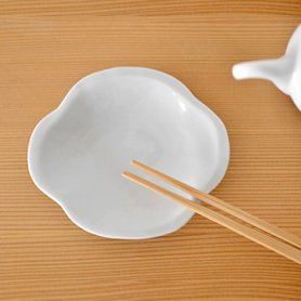 白磁 木瓜皿