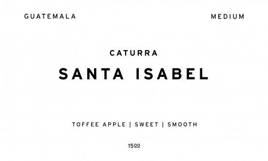 SANTA ISABEL  |  GUATEMALA  /200g