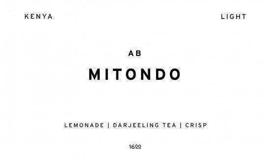 MITONDO  |  KENYA  /200g