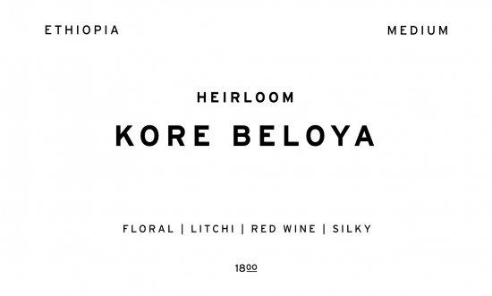 KORE BELOYA  |  ETHIOPIA  /200g