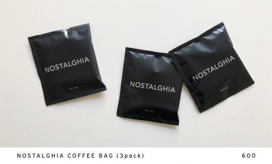 NOSTALGHIA COFFEE BAG