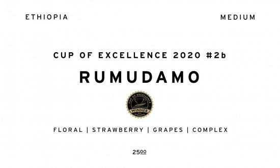 RUMUDAMO  |  ETHIOPIA COE #2b  /30g