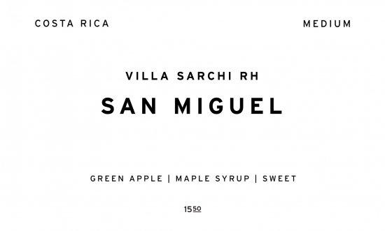 SAN MIGUEL |   COSTA RICA  /200g