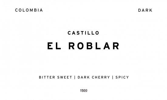EL ROBLAR - DARK - | COLOMBIA  /200g