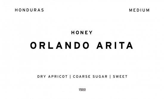 ORLANDO ARITA  |  HONDURAS /200g