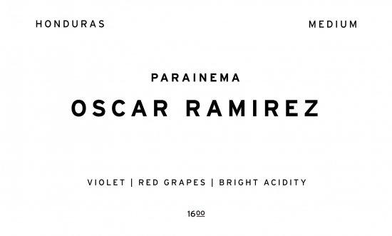 OSCAR RAMIREZ     HONDURAS  /200g