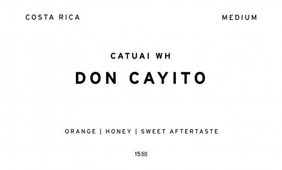 DON CAYITO     COSTA RICA  /200g