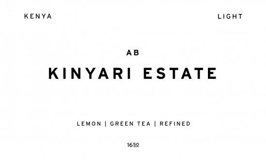KINYARI ESTATE     KENYA /200g