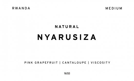 NYARUSIZA     RWANDA  /200g
