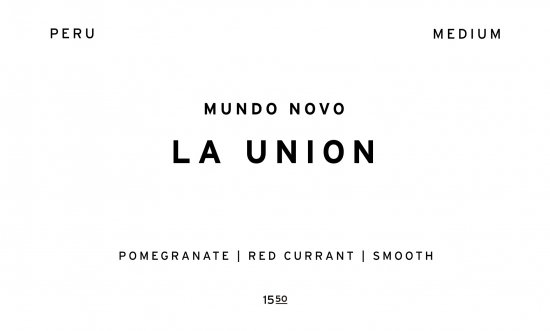 LA UNION     PERU  /200g