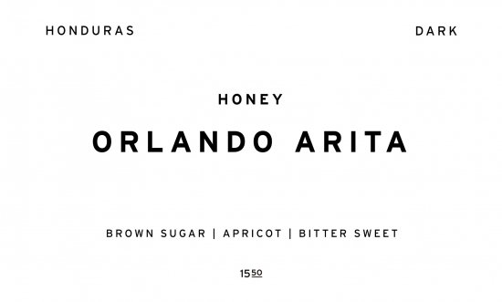 ORLANDO ARITA - DARK -     HONDURAS /200g
