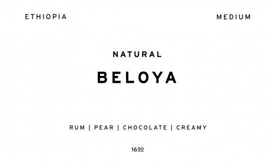 BELOYA     ETHIOPIA  /200g