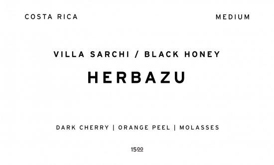 HERBAZU     COSTA RICA  /200g