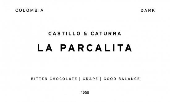 LA PARCELITA - DARK -     COLOMBIA  /200g