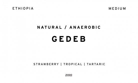 GEDEB     ETHIOPIA  /200g