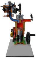 4サイクルガソリンエンジン(EFI)説明模型