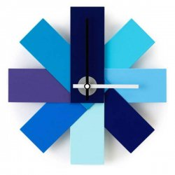 <img class='new_mark_img1' src='https://img.shop-pro.jp/img/new/icons29.gif' style='border:none;display:inline;margin:0px;padding:0px;width:auto;' />normann COPENHAGEN ノーマンコペンハーゲン 壁掛け時計 Watch Me Wall Clock(ブルー)