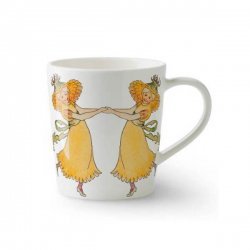 Elsa Beskow エルサべスコフ 手付きマグカップ Dandelion たんぽぽ デザインハウス ストックホルム / DESIGN HOUSE Stockholm