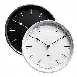 電波時計 掛け時計 北欧 シンプル レムノス RIKI STEEL CLOCK RC0824 音なしのスイープムーブ