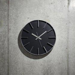 掛け時計 北欧 シンプル 静かなスイープムーブメント レムノス AZUMI edge clock (L) AZ0115