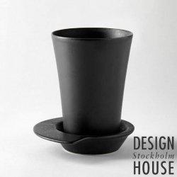 デザインハウス ストックホルム スピン マグ / DESIGN HOUSE Stockholm Spin MUG ブラック