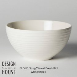 DESIGN HOUSE Stockholm BLOND Soup&Cereal Bowl / デザインハウス ブロンド・スープシリアル・ボウル