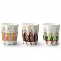 Elsa Beskow エルサべスコフ マグカップ3個セット Three little lasses 3人の小さなお嬢さん デザインハウスストックホルム / DESIGNHOUSE Stockholm