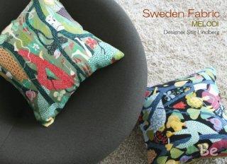 北欧スウェーデン スティグ・リンドベリ デザインのクッションカバー  MELODI