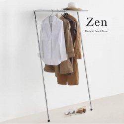 <img class='new_mark_img1' src='https://img.shop-pro.jp/img/new/icons61.gif' style='border:none;display:inline;margin:0px;padding:0px;width:auto;' /> ハンガーラック 壁面に立てかけるだけのモダン家具 MOX ZEN coat hanger