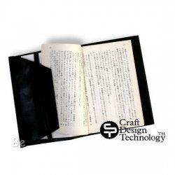 Craft Design Technology / クラフトデザイン 革シリーズ ブックカバー(ブラック)RAPH2-064BK