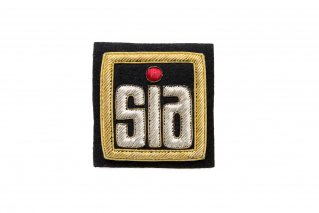 SIAエンブレムワッペン(ブレザー用)【SIA正会員(スノースポーツ教師有資格者)のみ販売】