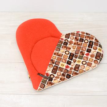 【Valentine】ハートマット ショコラ