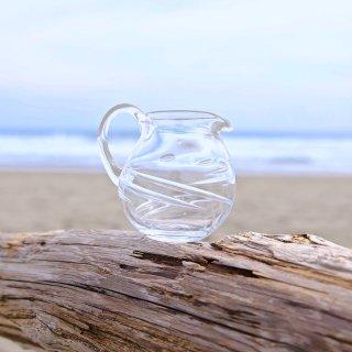 【kiroroan】「たゆら」ガラスミルクピッチャー