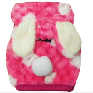 ferret ランランハーネスウェア 水玉うさぎ:ピンク