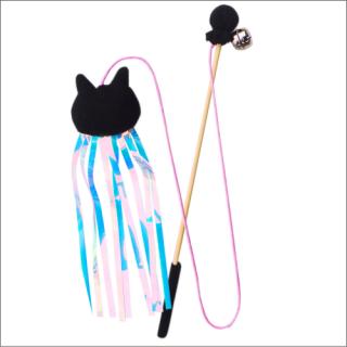 ジャンプであそぼう:黒猫ひらひら