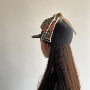 <img class='new_mark_img1' src='https://img.shop-pro.jp/img/new/icons20.gif' style='border:none;display:inline;margin:0px;padding:0px;width:auto;' />30%OFF WOLF & RITA  VALQUIRIA HAT / 2020AW