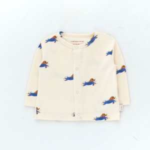 <img class='new_mark_img1' src='https://img.shop-pro.jp/img/new/icons14.gif' style='border:none;display:inline;margin:0px;padding:0px;width:auto;' />DOGGY PADDLE BABY CARDIGAN / light cream iris blue / tiny cottons 2021ss